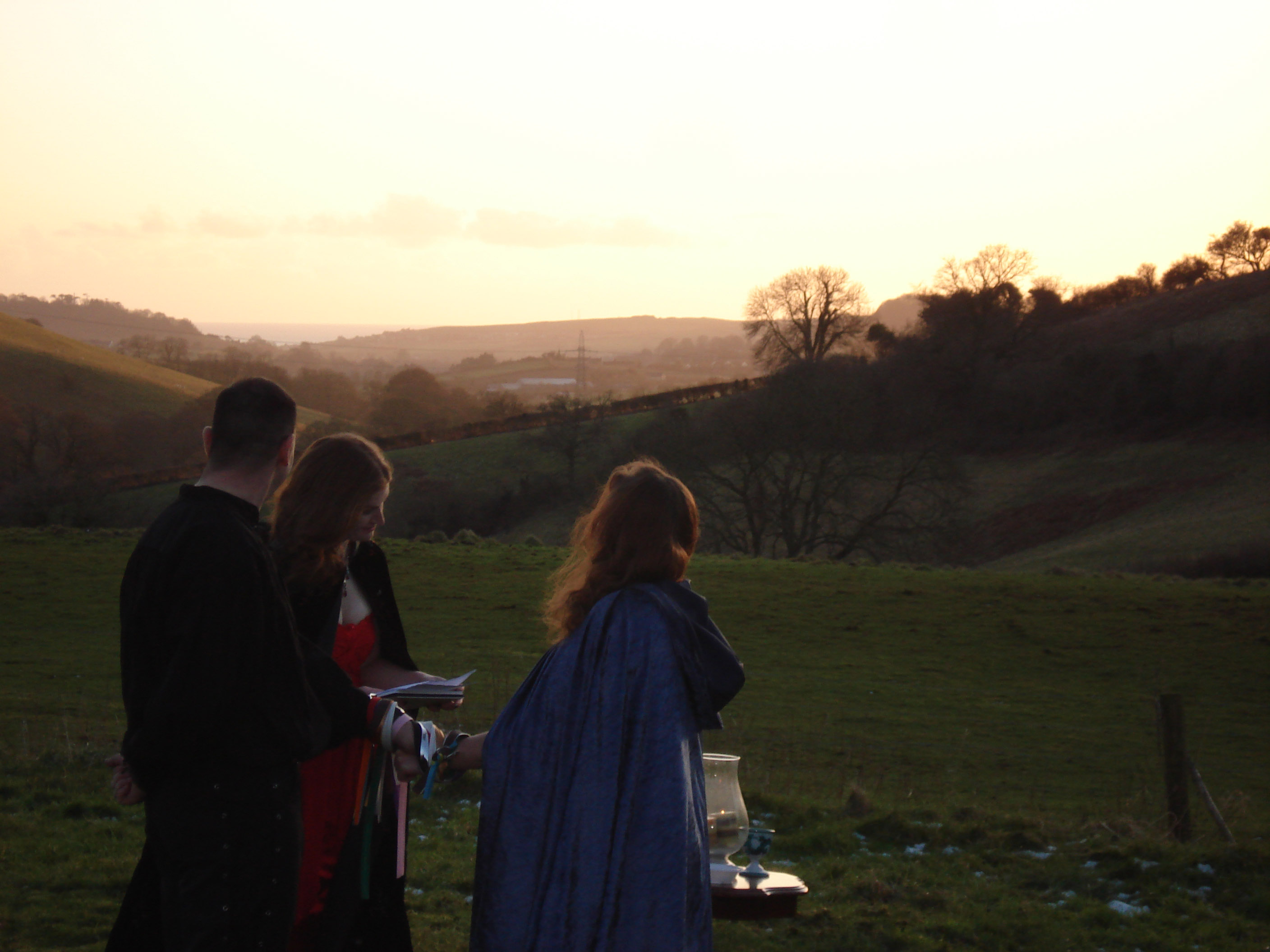 Lancombes House - Handfasting location